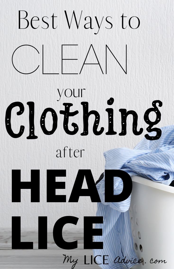 Discover how long lice can live on your clothes and 7 proven ways to clean your clothes after lice so you don't get it back!