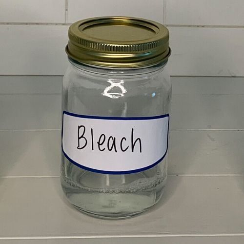 bleach jar