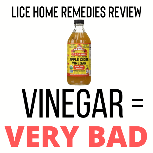 Vinegar= Bad