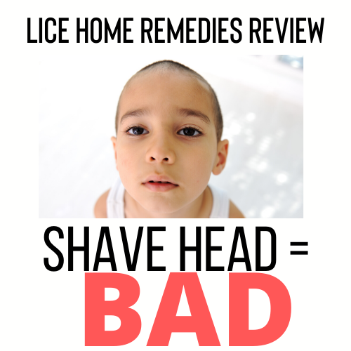 Shaving Your Child's Head is a Bad Home Remedy for Lice