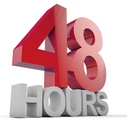 #6- House cleaning 48 hours