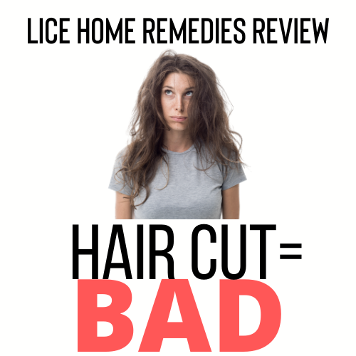 Cutting your hair is a bad home remedy