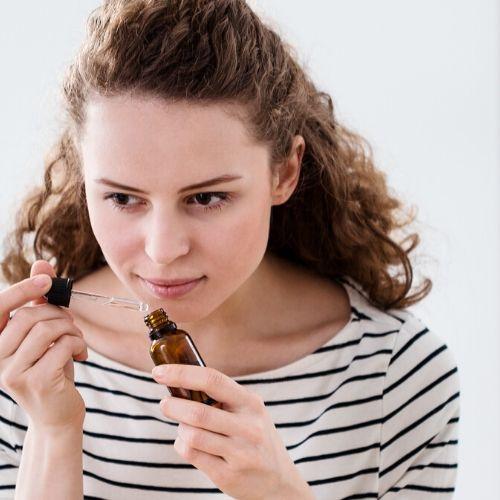 essential oil sniff